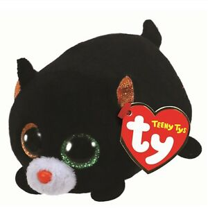 674080ac3c6 Ty Beanie Babies 42332 Teeny Tys Treat the Halloween Black Cat ...
