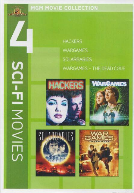 MGM 4 SCI-FI MOVIES - HACKERS / WARGAMES / SOLARBABIES / WARGAMES - THE DE (DVD)