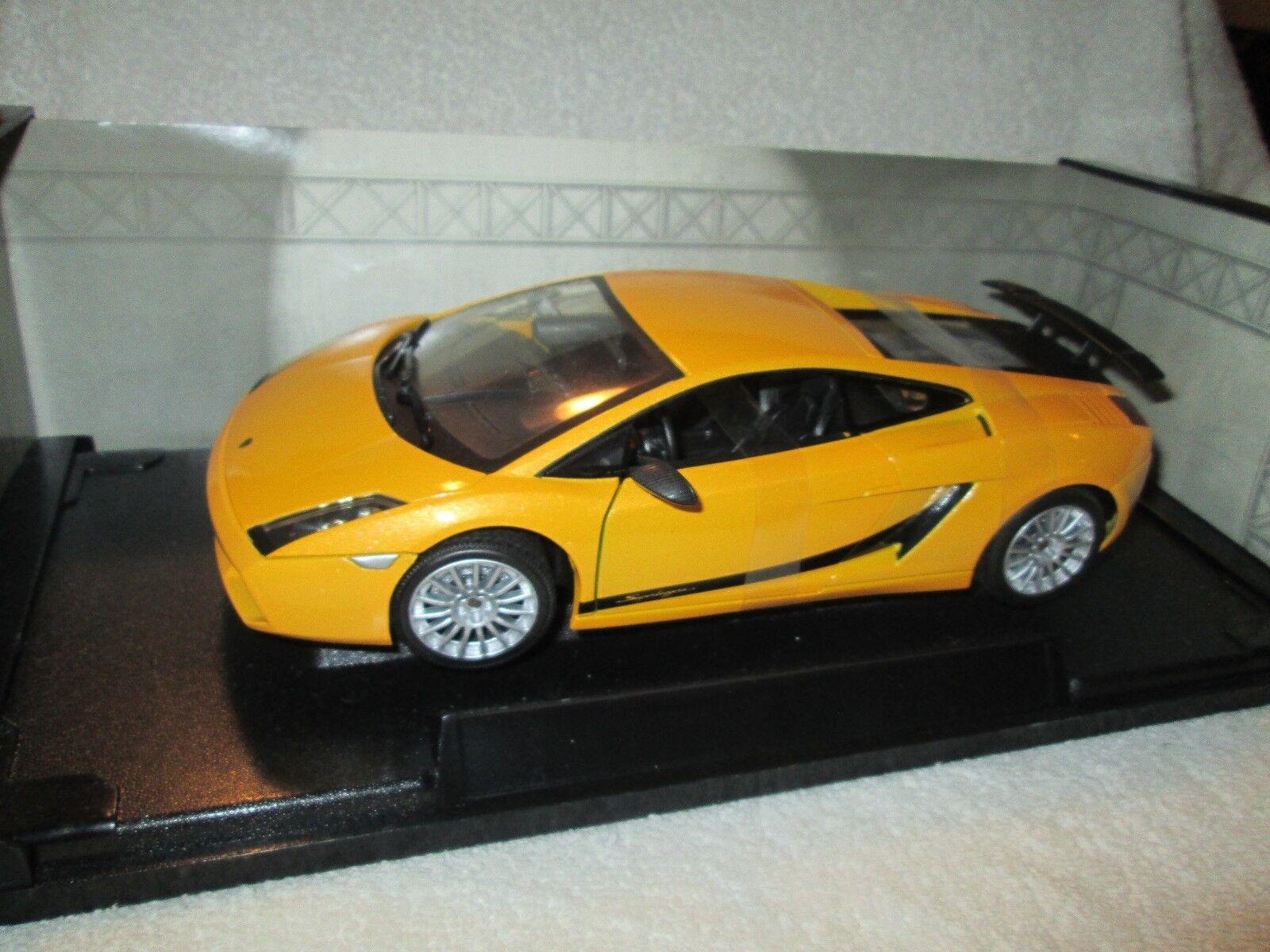 Lamborgini Gallardo Superleggera giallo 1 18 de Metal