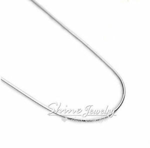 """925 Sterling Silver Filled 4MM Classic Figaro Chain Necklace Wholesale 16/"""" 30/"""""""