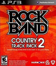 Rock Band Country Track Pack Vol. 2 PS3 Sony PlayStation 3