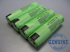 4 Genuine Panasonic NCR18650PF GA 18650 2900mAh 3.7v IMR Flat Top Li-Ion Battery