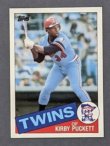 1985-Topps-536-Kirby-Puckett-RC-HOF-Minnesota-Twins-NM-MT-or-Better-Centered