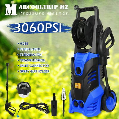 Electric Pressure Washer 3060 PSI//211 BAR Water High Power Jet Wash Patio Car