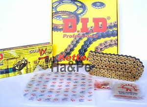 Yamaha-FZ1-1000S-Fazer-ABS-DID-Kettensatz-chain-kit-VX-530-G-amp-B-gold-2009-2010