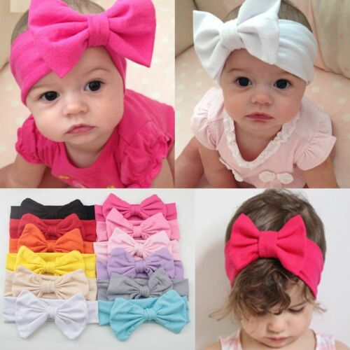 Sü?e Baby Kinder Taufe Haarband Schleife Stirnband Kopfband Haarschmuck//Neu*DE*O