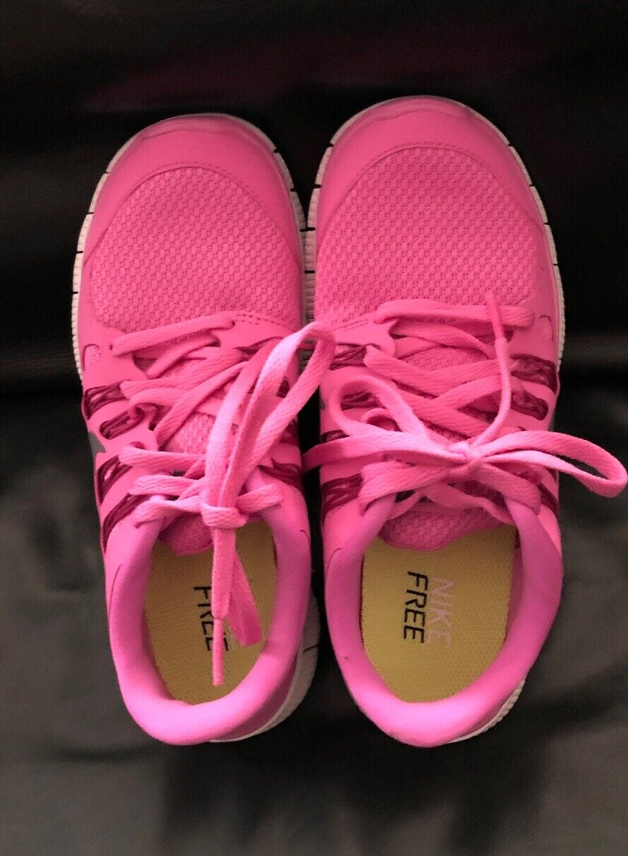 NEW Nike Free 5.0 Pink 580591 500 Running shoes Womens Size 5