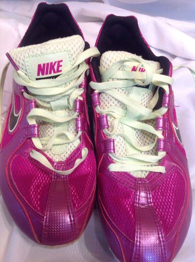 Women's Size 6.5 Nike Zoom Rival MD Vivid Grape/Volt 468650-503