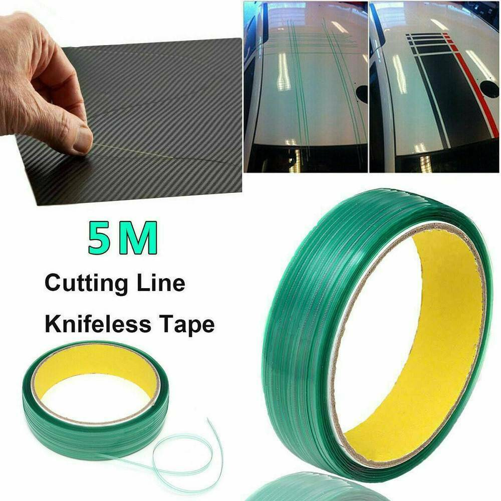 Knifeless Tape Finish Line,Vehicle Vinyl Wrap Tool Kits,Car Film Edge Cutting,Auto Graphic Decals Design Line 10M Blue Felt Squeegee,Long Reach Scraper Zanch 32FT