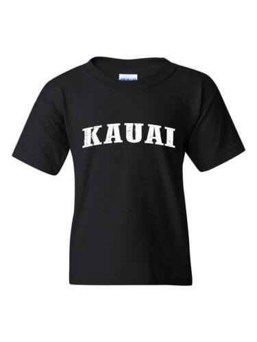 Kauai T-Shirt Kauai Hawaii Youth/&Kids T-Shirt