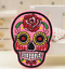 Sugar-Candy-Skull-Iron-On-Patch-Badge-Day-of-the-Dead-Transfer-Jacket-Hat-Bag thumbnail 12