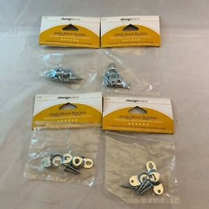 4 Designview Inside Mount Mounting Brackets Roller Shade Blinds 633 454 44294104709 Ebay