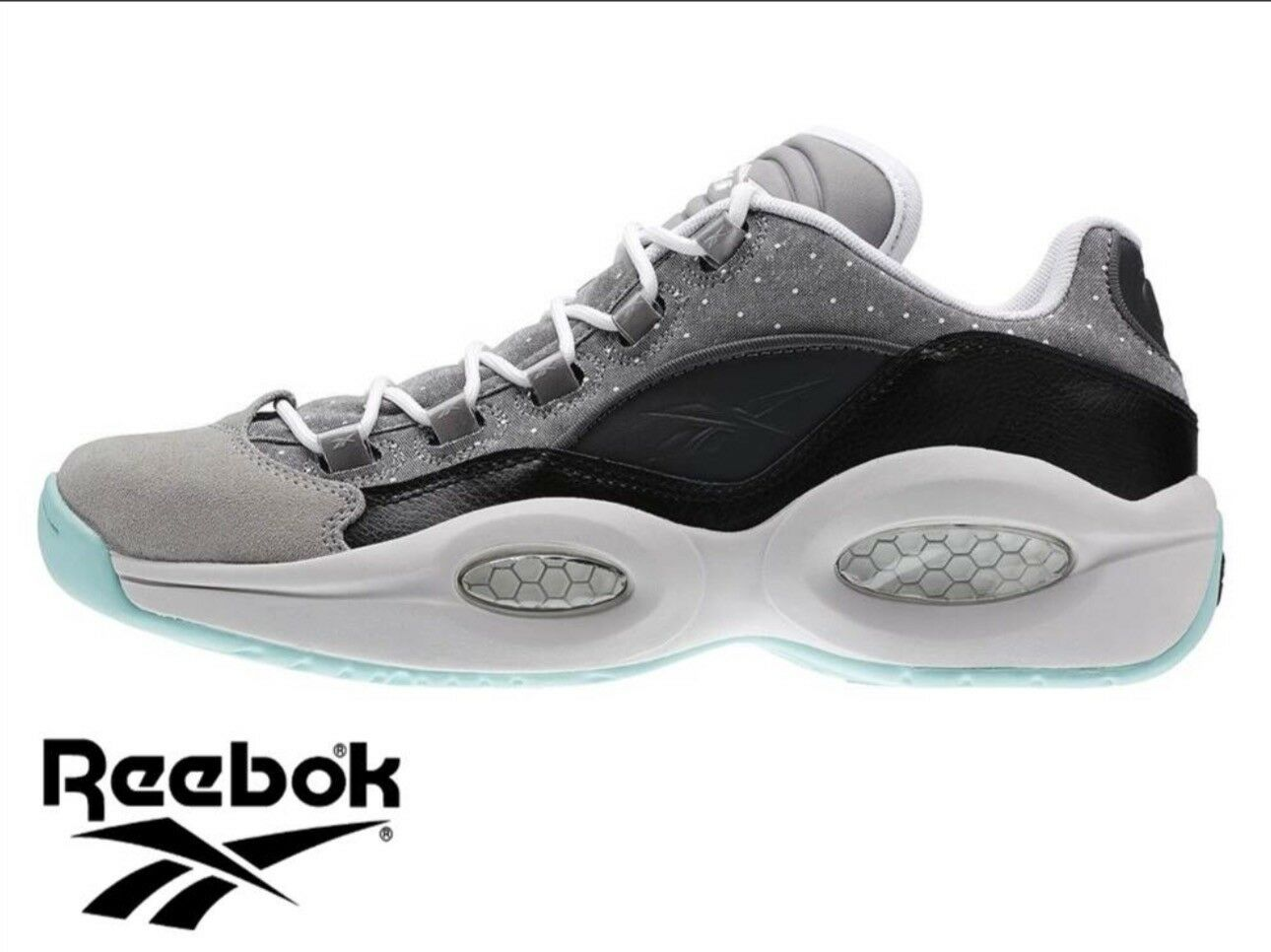 Reebok Question Low R13 Trainer, size Eur 41