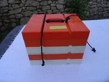 valise pique nique plastique vintage