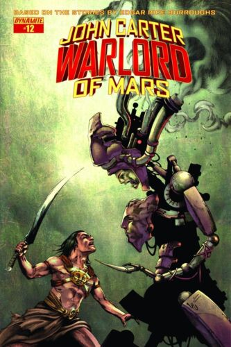 JOHN CARTER WARLORD #12 Cover D Subscription Cover NM Comic Dynamite Vault 35