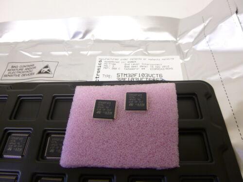 256KB Flash 1 Stück//1 piece STM32F103VCT6 ARM 32-bit MCU 48KB SRAM LQFP 100