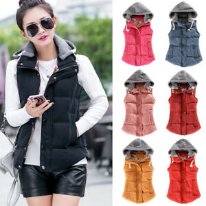 b33367354bf50 Image is loading Warm-Gilet-Sleeveless-Waistcoat-Plus-Size-Winter-Women-