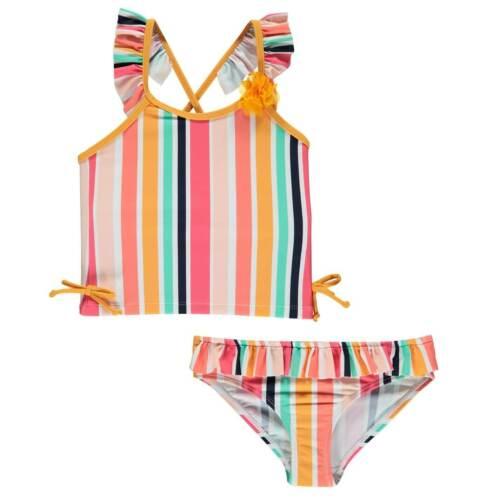 SoulCal 2pc Swim Infants Girls Swimming Pool Seaside Swimsuit