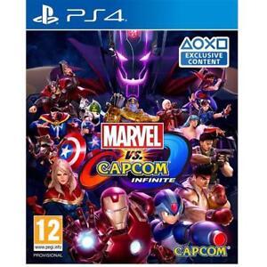 MARVEL-VS-CAPCOM-PS4-gioco-infinito-PlayStation-4-QUATTRO-NUOVO-e-SIGILLATO