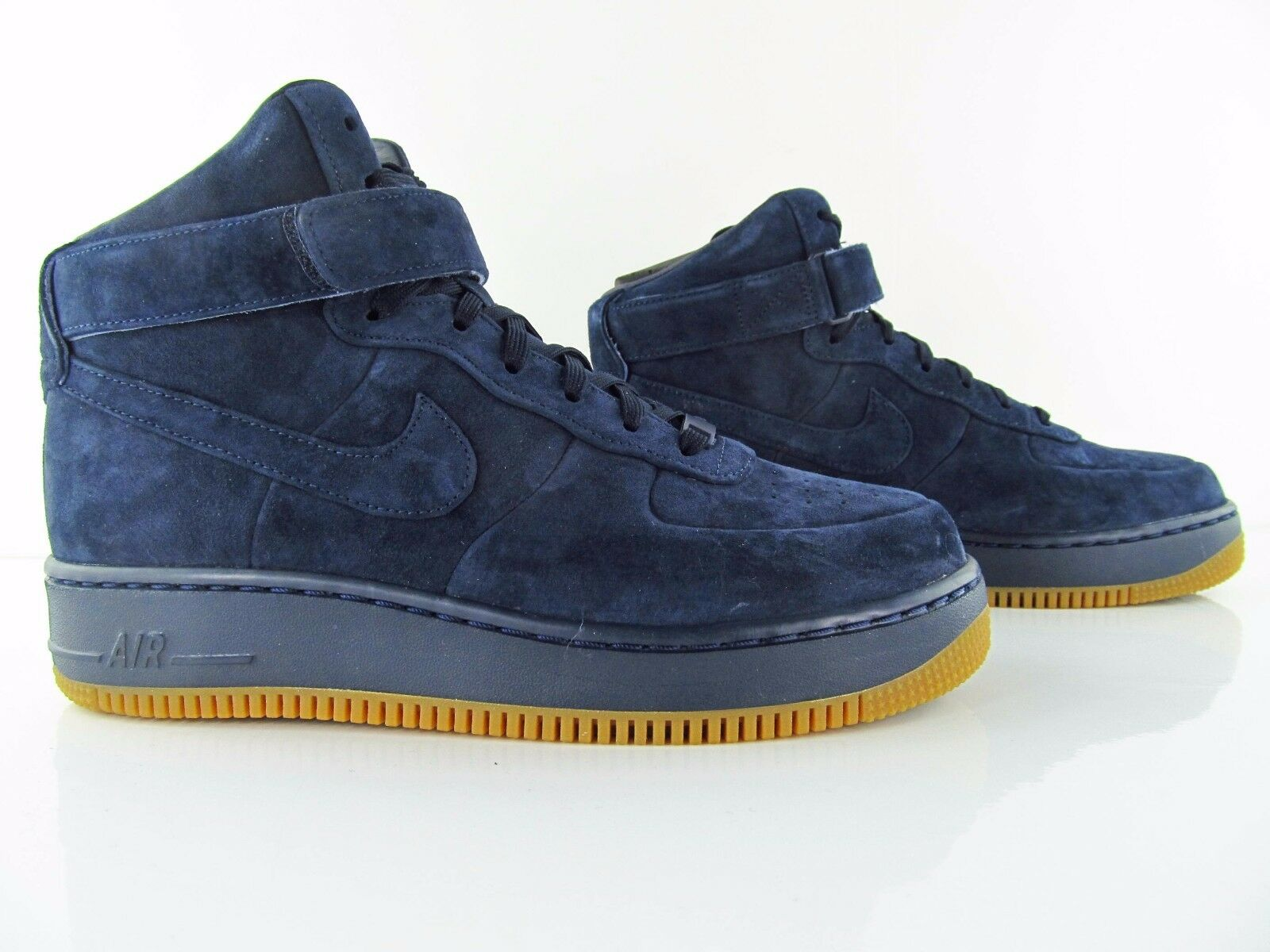 Nike Air Force Force Force 1 AF1 Upstep HI LX Obsidian Blau New Unisex UK_9 US_11.5 EUR 44 c6fe7c