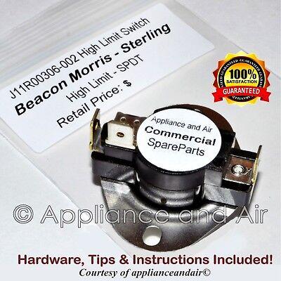 Hardware Sterling Beacon Morris J11R02833-003 Blocked Vent Switch Manual Reset