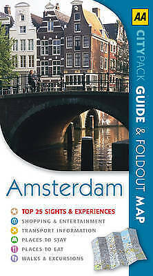 1 of 1 - AA CityPack Amsterdam by Teresa Fisher (Paperback, 2007)