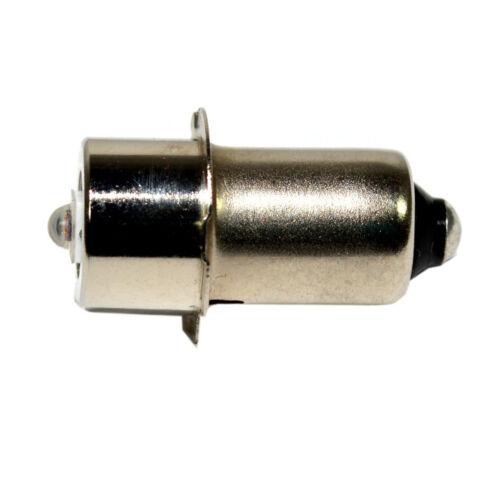 HQRP Bombilla LED 3W 6-30V luz roja para Dewalt DW908 DW918 DW906 DW919