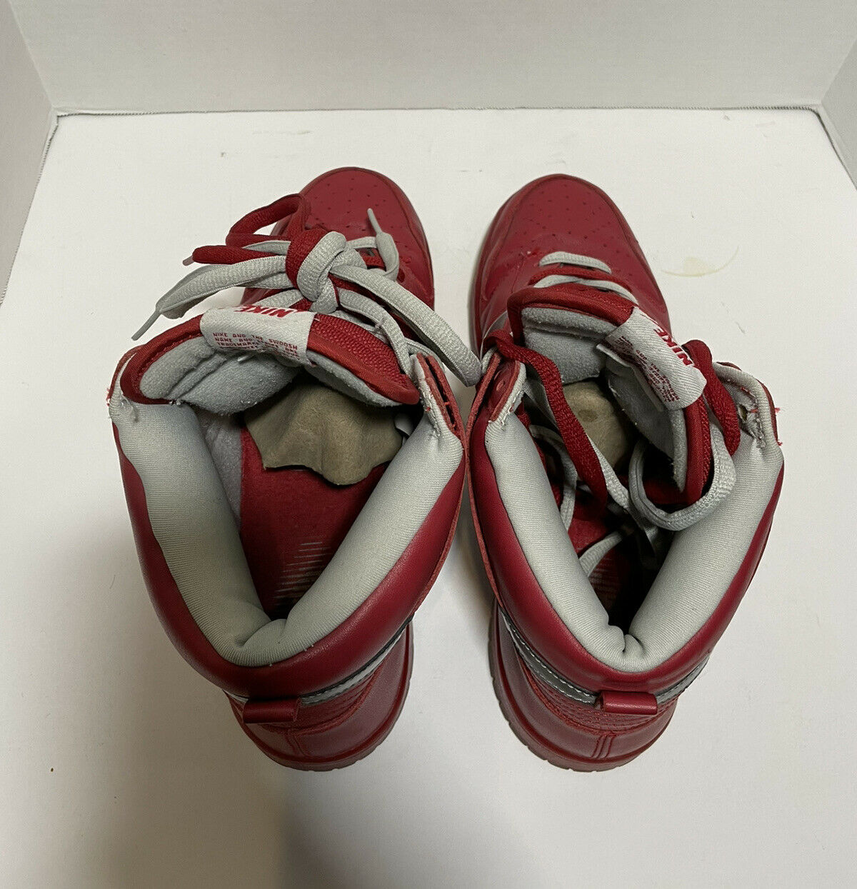2006 Nike Mork And Mindy SB Dunk High Red/silver … - image 6