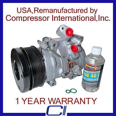 AC Compressor CLUTCH Fits 2007-2017 Toyota Tundra 5.7 /& 4.6 Liter See Details