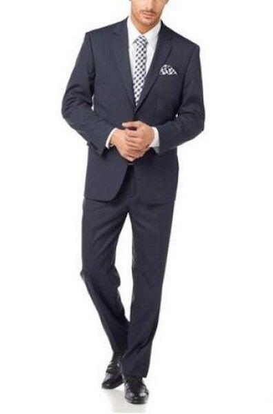 Class International Anzug K-Gr.24,26,27,30 NEU Sakko Hose Blau Geschäft Herren