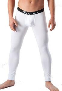 Geronimo-intimo-uomo-inverno-cotone-caldo-pantaloni-bianco-Pantaloni-lunghi