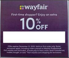 10 Off Wayfair Com Coupon Code For Sale Online Ebay