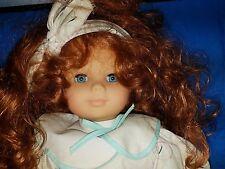 GOTZ  118/4 RED HAIR Girl Blue eyes Doll 20 INCHES