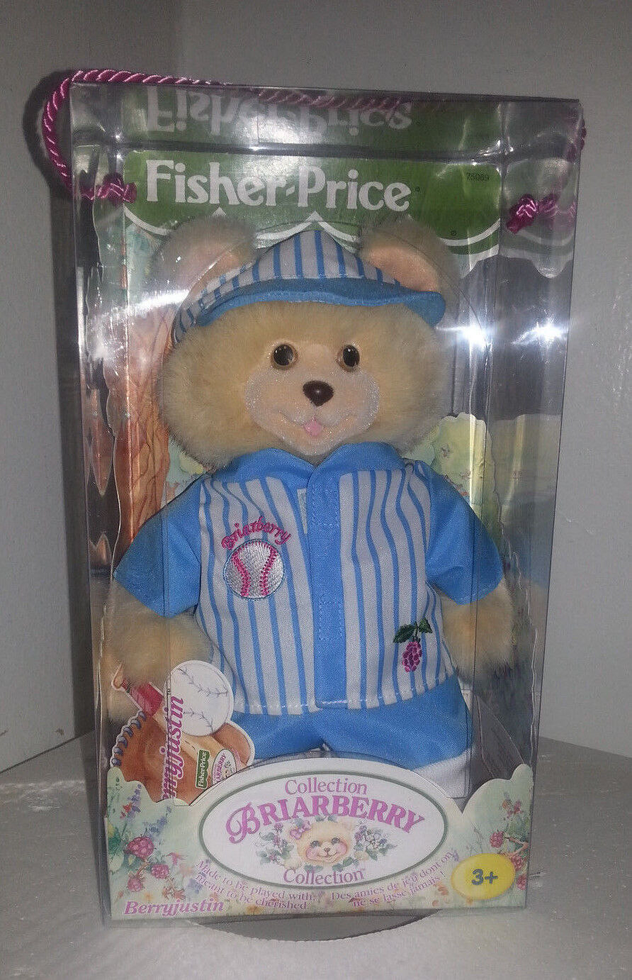 BERRYJUSTIN FROM THE BRIARBERRY BEARS COLLECTION