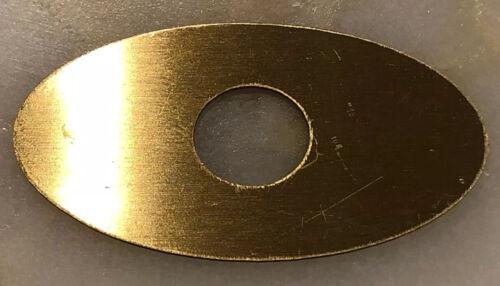 DRUM BADGE 1962-1970 Slingerland Niles Black /& Brass Badge Repro