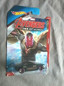 AVENGERS-HOT-WHEELS-MUSCLE-TONE-VISION-VOITURE-MARVEL