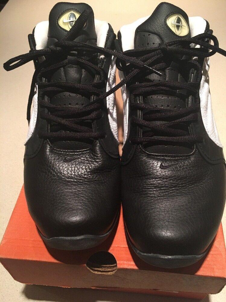 Nike Air Max Q Price reduction Black/Metallic Silver/ White 304813-005