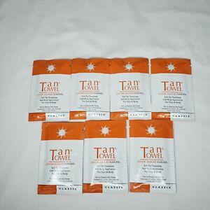 TanTowel Self-Tan Towelettes Look Good Naked - pack of 7
