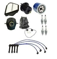 Honda Accord 94-97 2.2 Ex Tune Up Kit Filters Cap Rotors Wires Plugs on Sale