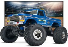 TRAXXAS Bigfoot no. 1 TRUCK 1:10 RTR con 12v-CARICABATTERIE #trx36034-1