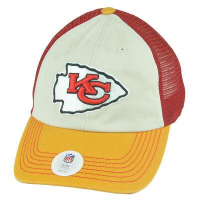 Fanartikel Kenntnisreich Nfl Kansas City Chiefs Honore Netz Schlapphut Locker Hut Kleidungsstück Waschen Dinge FüR Die Menschen Bequem Machen