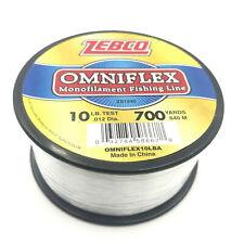 Zebco 12lb Test Omniflex Monofilament Fishing Line 700 Yards for sale online