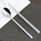 Chopsticks & Spoon Set Reusable Non Slip Stainless Steel Tableware Dinnerware