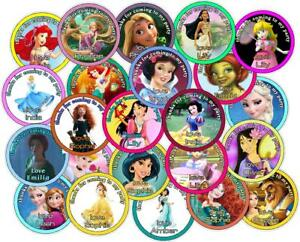 Personalised-Party-Bag-Stickers-Princess-Theme