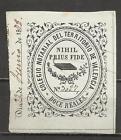 5200-SELLO CLASICO DE 1863 ALTO VALOR FISCAL COLEGIO NOTARIAL VALENCIA 12 REALES