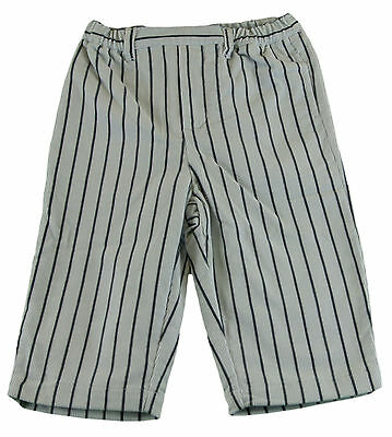 JACADI Girl/'s Cloitre White /& Multi Stripped Trousers Size 18 Months NWT $22