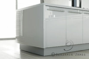 Image Is Loading High Gloss White Kitchen Cabinet Door Fronts Top