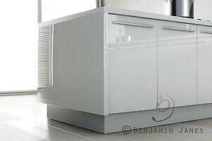 High Gloss White Kitchen Cabinet Door Fronts Top Spec Ebay