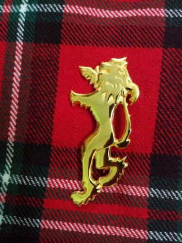 """Highland León Rampante Faldita Pin 4/"""" Men 's escocés León Rampante De Oro Faldita Pin 4 /"""""""