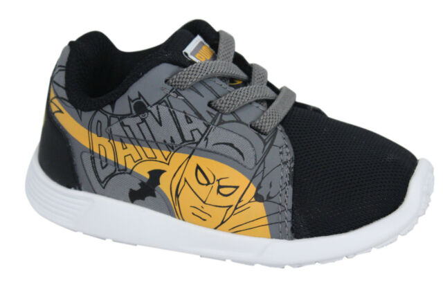 602bc708621 ... Kids Low Boot Unisex Black 21. About this product. Puma ST Trainer Evo  Lace Up Infant Batman Black Grey Trainers 361244 01 D71